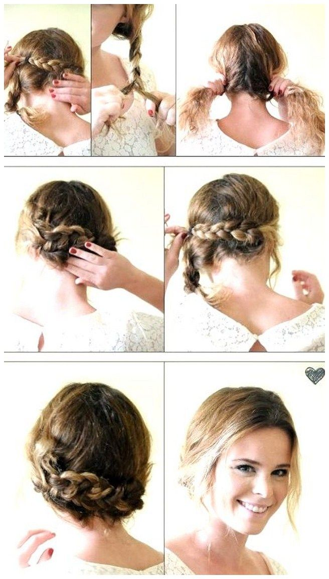 Easy Do It Yourself Wedding Hairstyles Bing Images