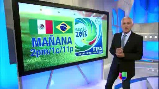 VIDEO: México se las juega todas ante Brasil en la Copa Confederaciones por Univision - http://uptotheminutenews.net/2013/06/18/latin-america/video-mexico-se-las-juega-todas-ante-brasil-en-la-copa-confederaciones-por-univision/