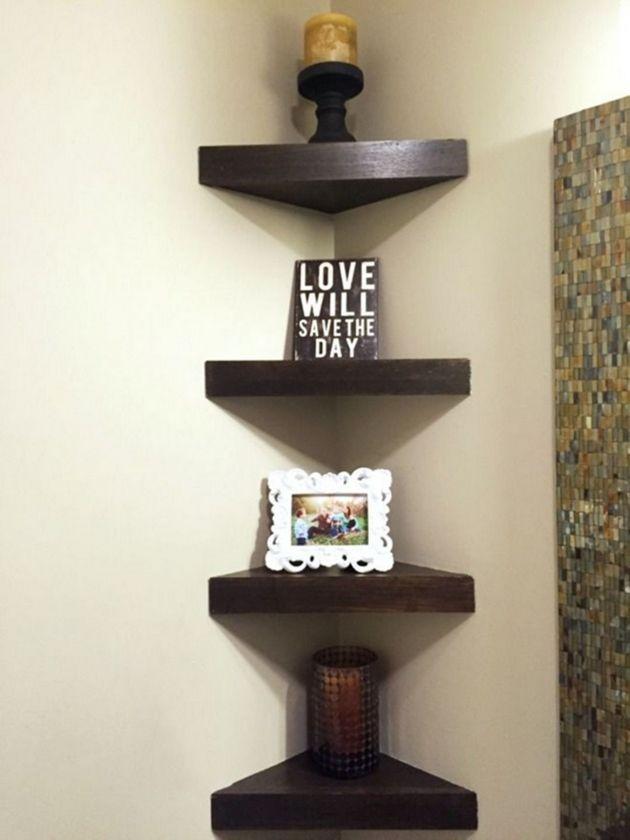 98 Amazing Bathroom Corner Shelf Corner Decor Corner Shelf Design Room Decor