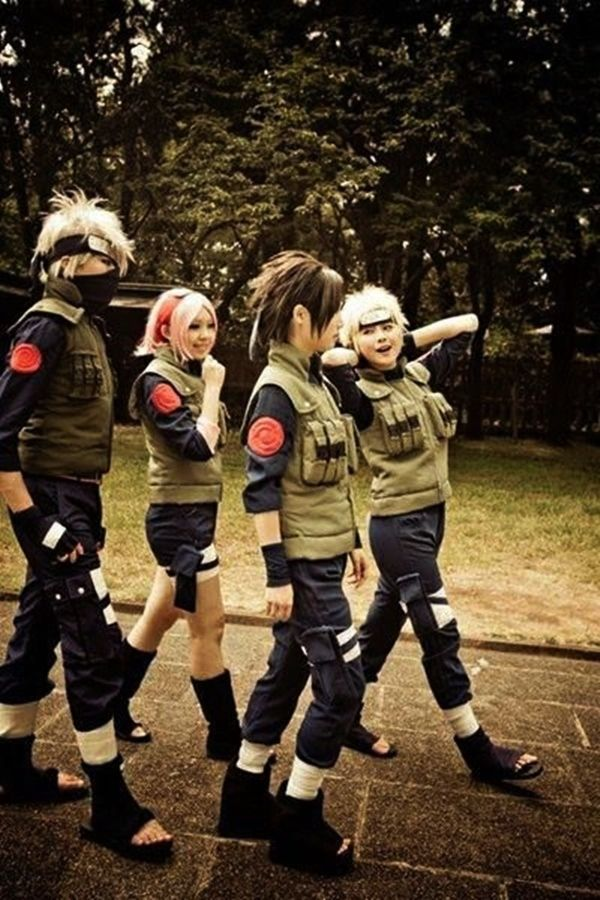 Best Naruto Costumes Naruto Team 7 Members