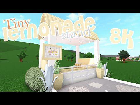 Bloxburg | Lemonade Stand 🍋🌿 | Speed Build