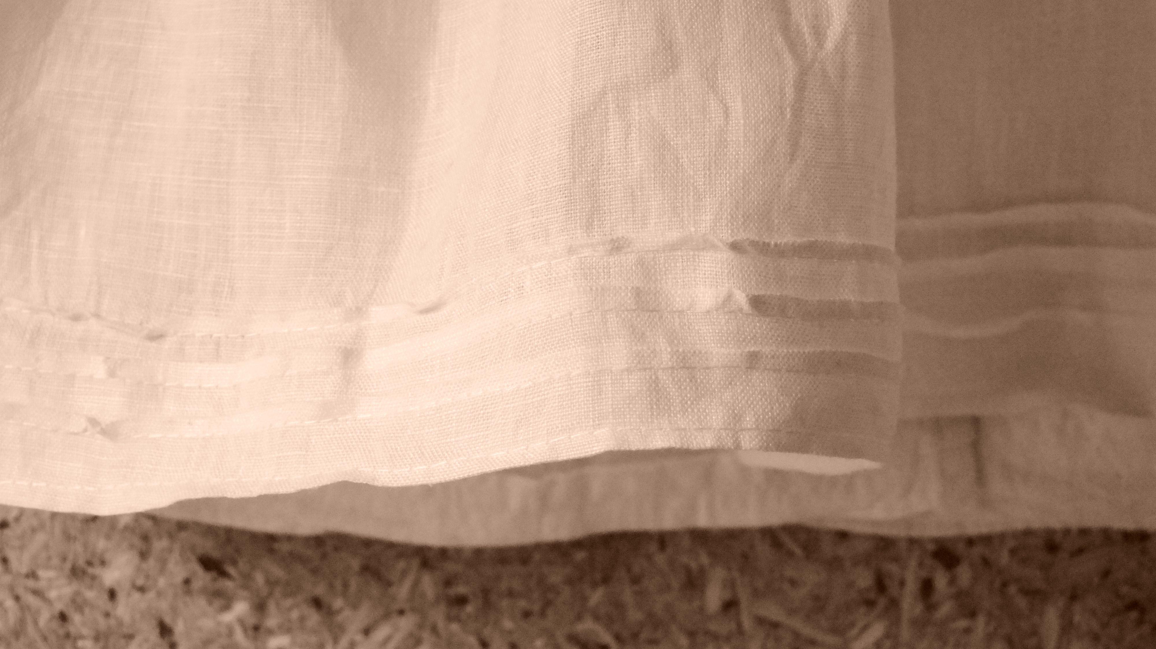 A simple dress for a newborn Christian