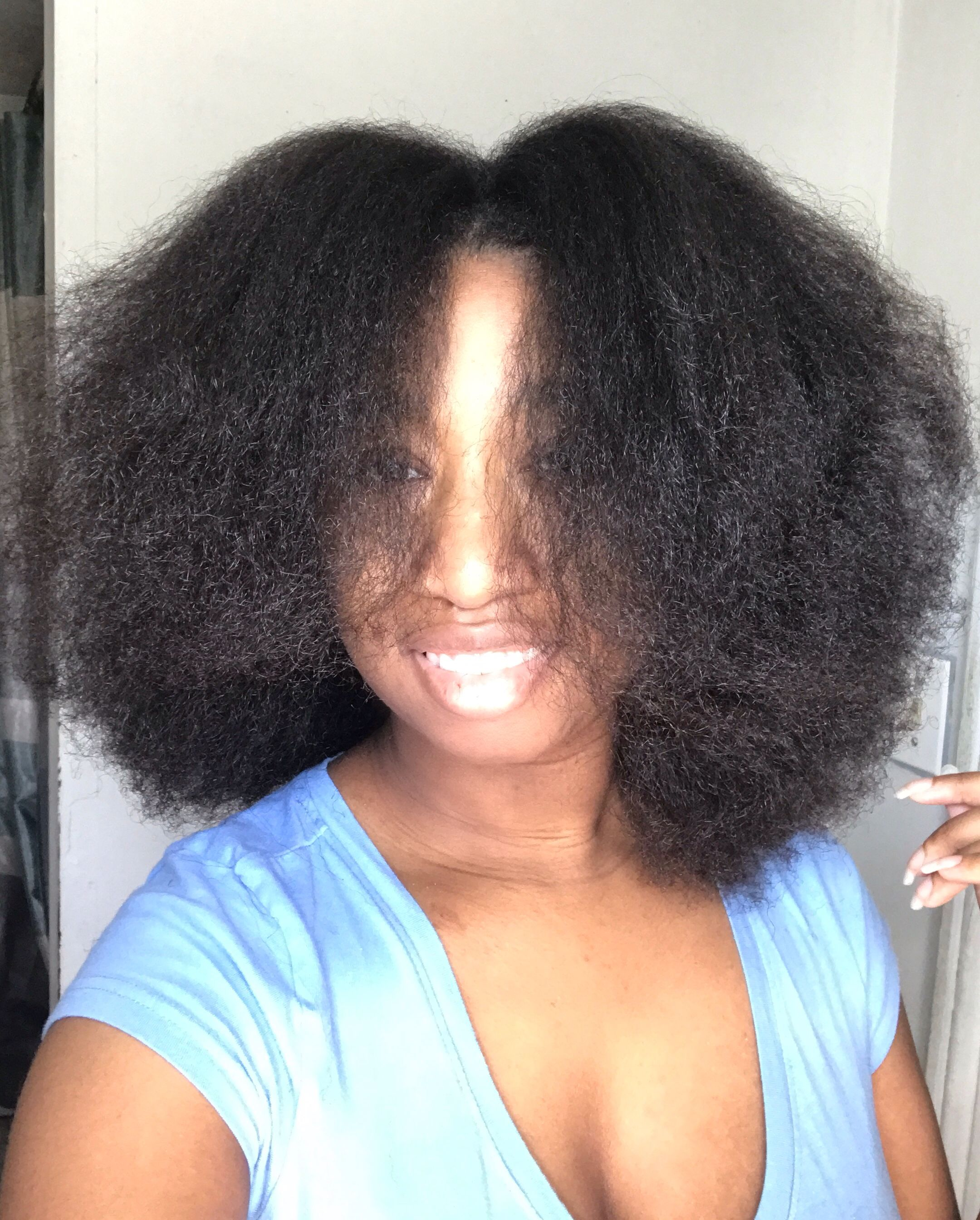 Blow dried Afro on 4c hair   4c hairstyles, Natural hair ...