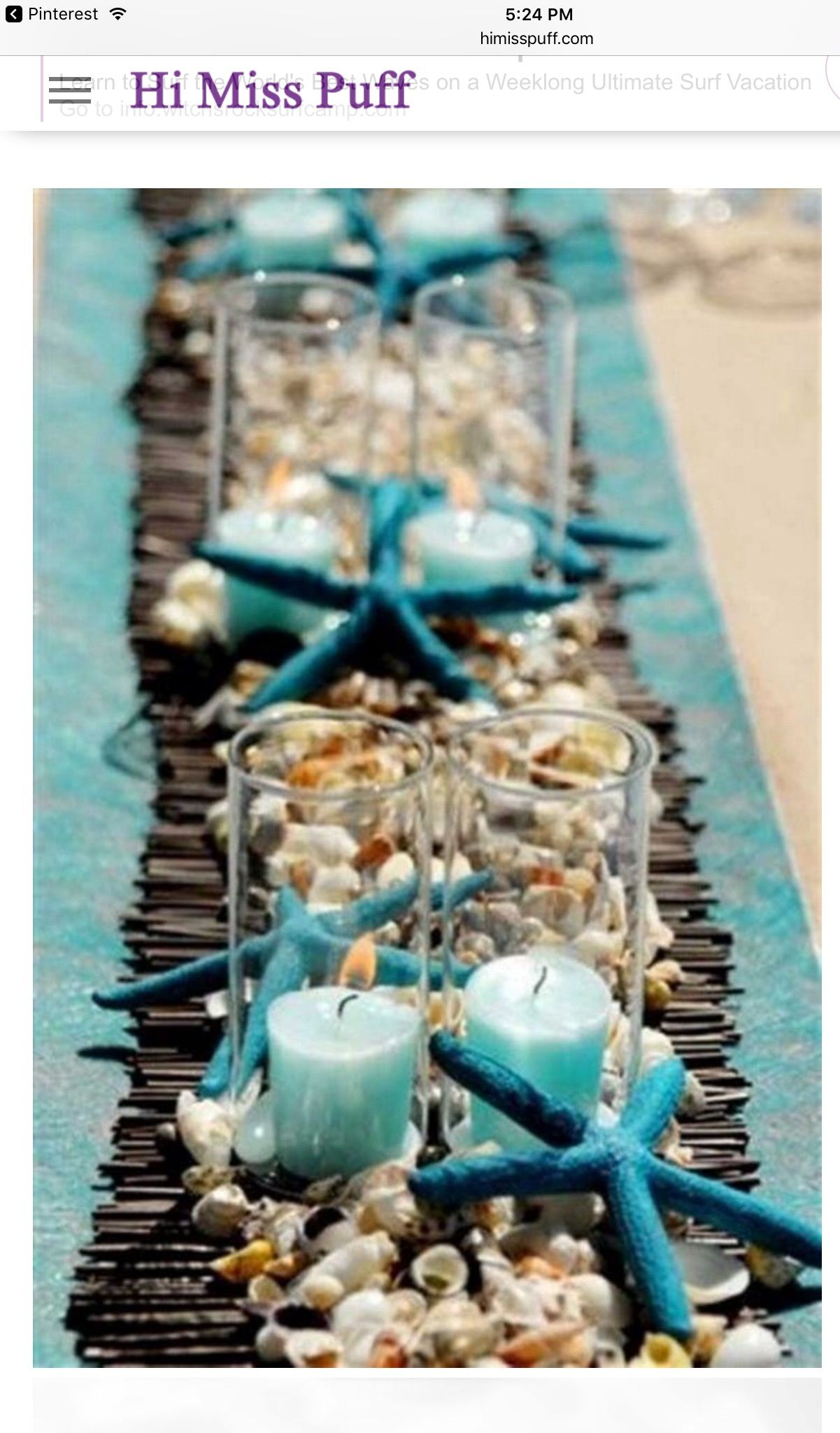 Beach wedding idea  Pin by Beth on C wedding decoration ideas  Pinterest  Weddings
