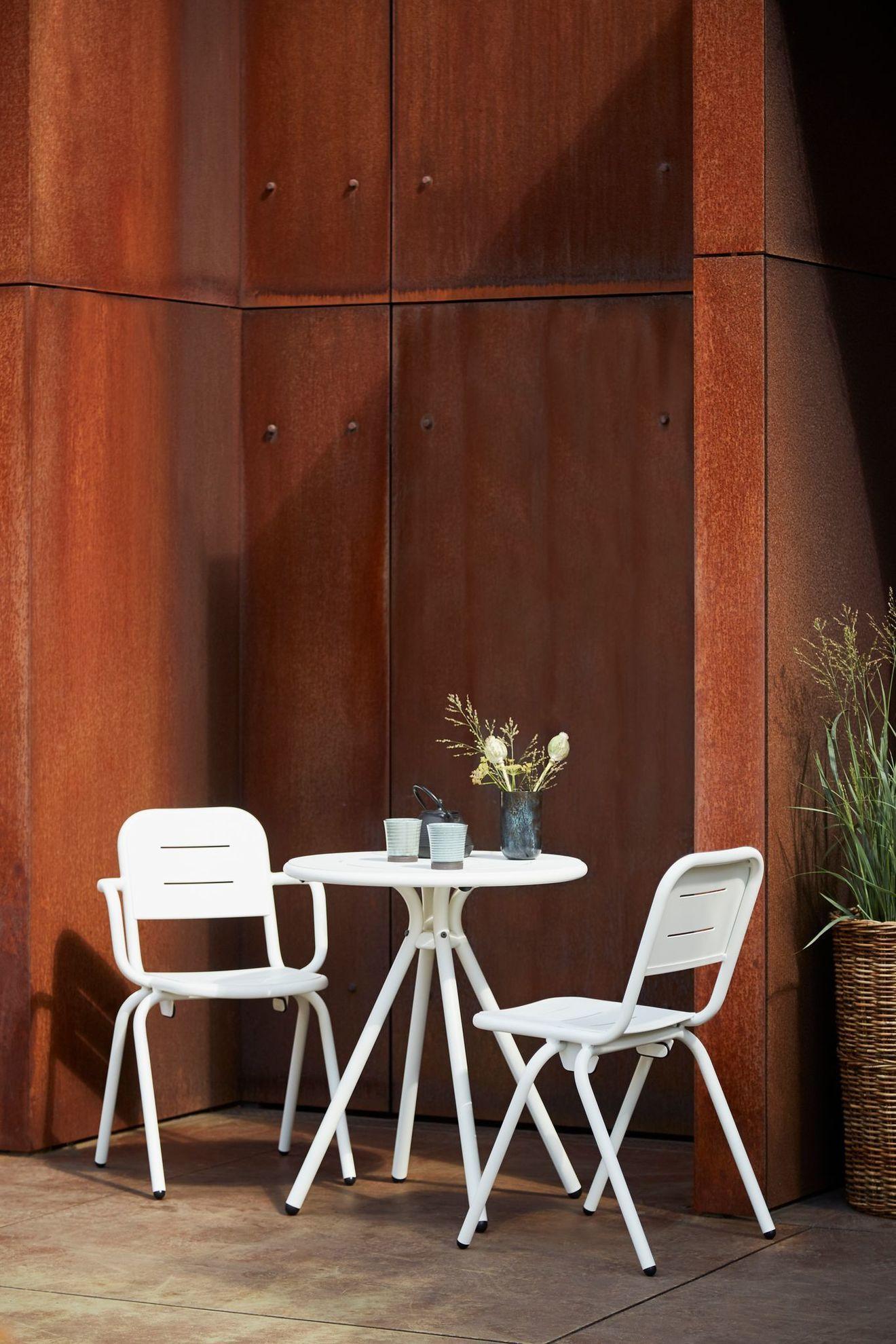 TerrasseBalconFauteuilChaise D Et Petite Meuble Table XZuiPwOTlk
