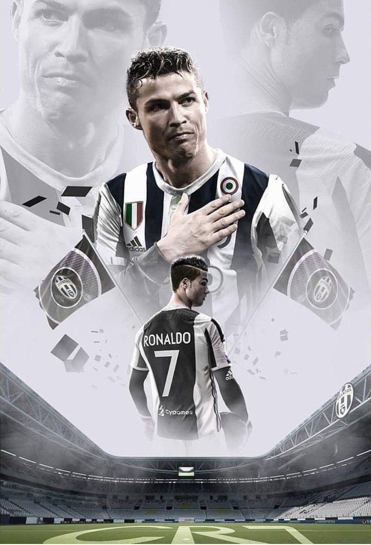 Juventus F.C. New Player Cristiano Ronaldo Art By