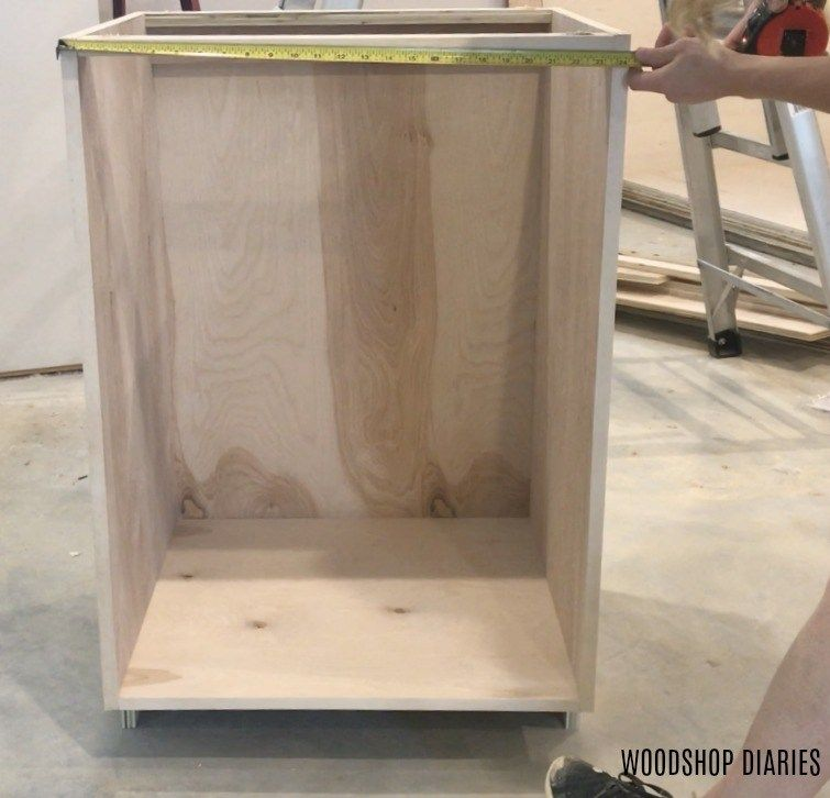 How to Build Your Own DIY Kitchen CabinetsFrom Only Plywood - Diy cabinets build, Diy kitchen cabinets, Building kitchen cabinets, Diy kitchen cabinets build, Diy cabinets, Plywood kitchen - Custon kitchen cabinets don't have to cost a fortune   if you build them yourself  I'll show you how to build DIY kitchen cabinets with this easy tutorial