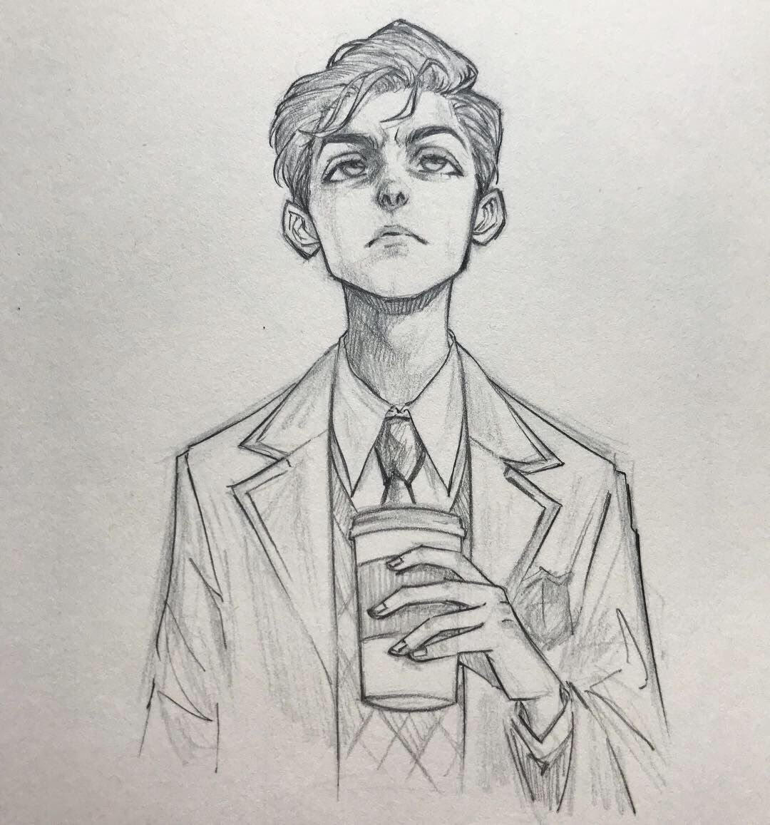 Umbrellaacademy Number5 Fanart Not My Art Sketches Drawings