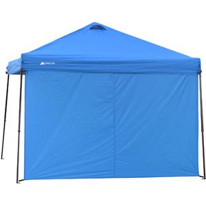 Ozark Trail Sun Wall For 10 X 10 Straight Leg Canopy Accessory Only Blue Walmart Com Canopy Gazebo Accessories Gazebo Ozark