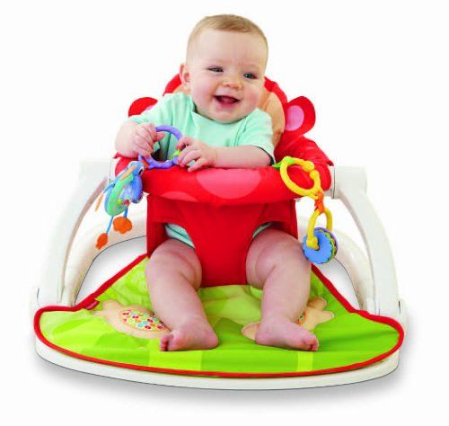 Fisher-Price Deluxe Sit-Me-Up Floor Seat Fisher-Price,http