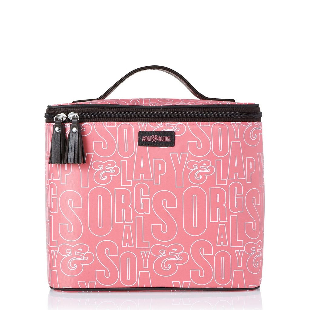 Soap and glory cosmetic train case Vanity bag, Bags