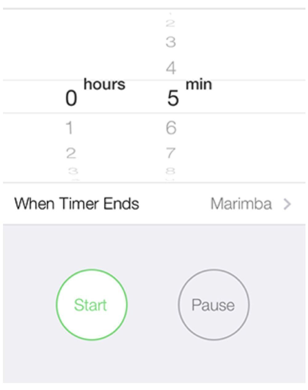 How To Change the iOS Timer from 5 to 1 Minute Using
