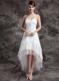 Robe de mariee forme asymetrique