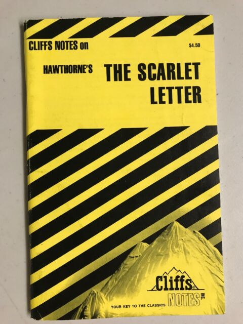The Scarlet Letter by Cliffs Notes Lettering