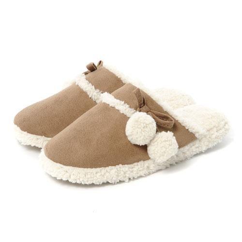 totes Ladies Faux Sheepskin Mule Slippers | Slippers | Pinterest ...