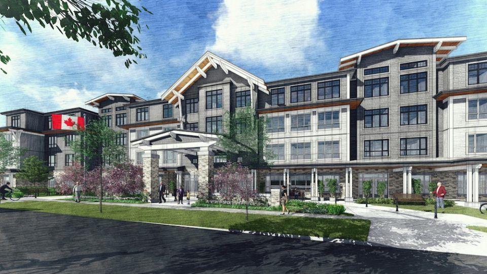 Sunrise Senior Living Plans New East Vancouver Care Home Urbanyvr In 2020 Sunrise Senior Living Senior Living Sunrise