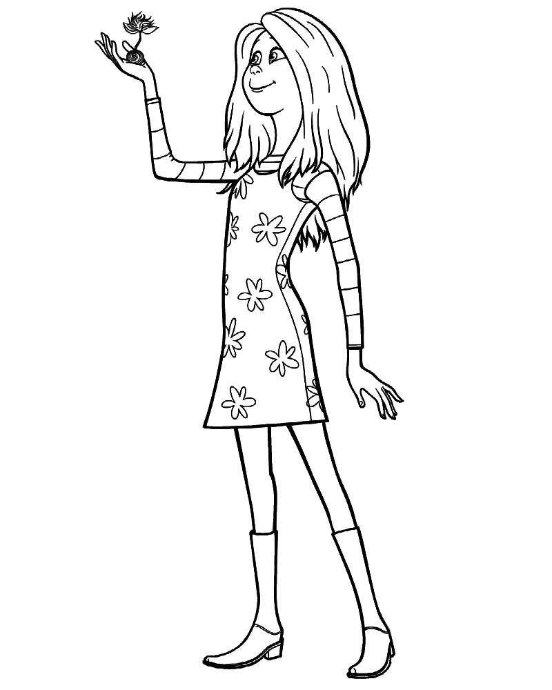 Lorax Coloring Pages Coloring Pages The Lorax Movie Characters