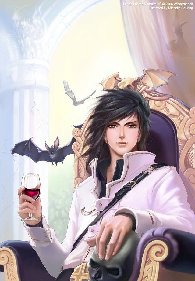 Anime Male Vampire