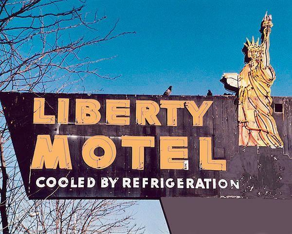 Liberty Motel, Phoenix Arizona -- Cooled by Refrigeration