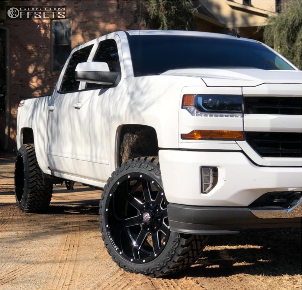 2018 Chevrolet Silverado 1500 Ballistic Rage Motofab Leveling Kit Chevy Trucks Chevy Trucks Silverado Gmc Trucks