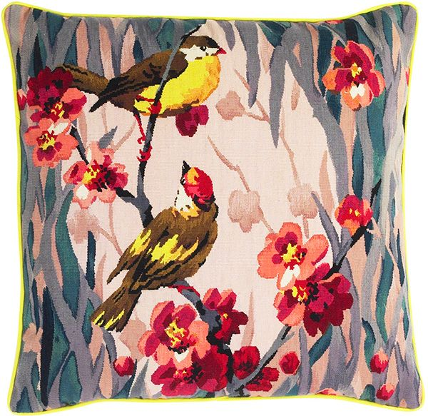 The Rug Company Rug Company Tapestry Cushion Wool Cushion