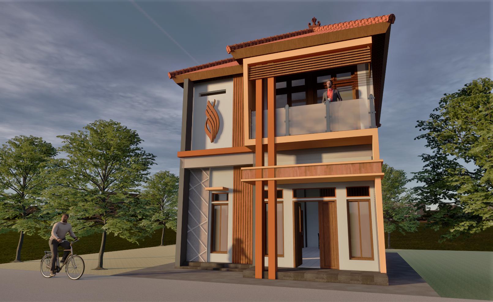 Rumah Sederhana 2 Lantai Arsitektur Rumah Desain Rumah