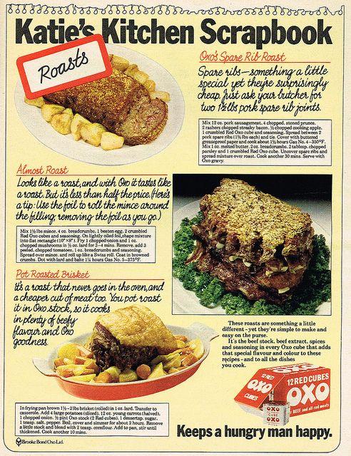 Vintage Ad 1 865 Katie S Kitchen Scrapbook Retro Recipes Beef
