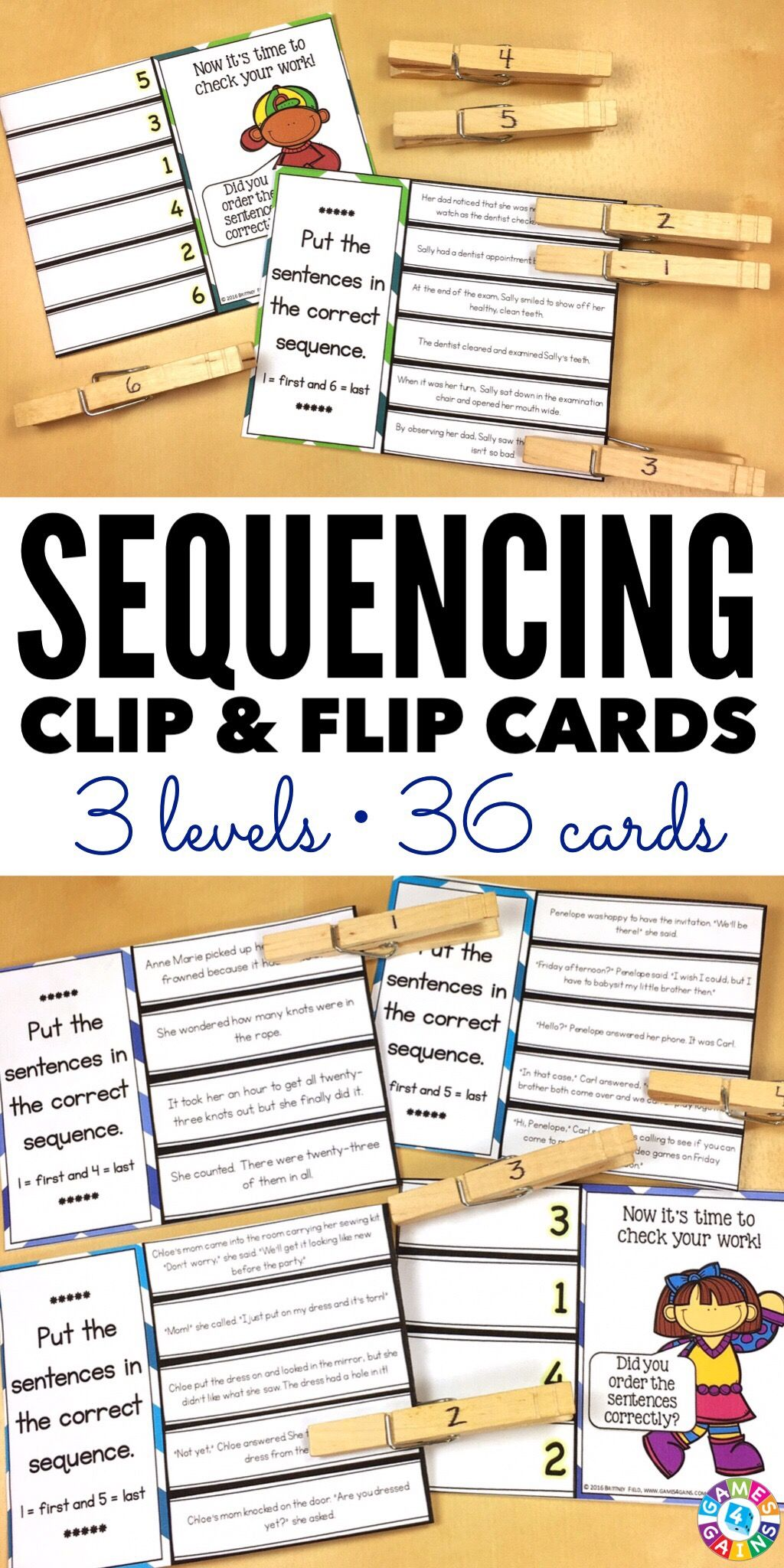 Story Sequencing Activity 36 Sequence Of Events Task