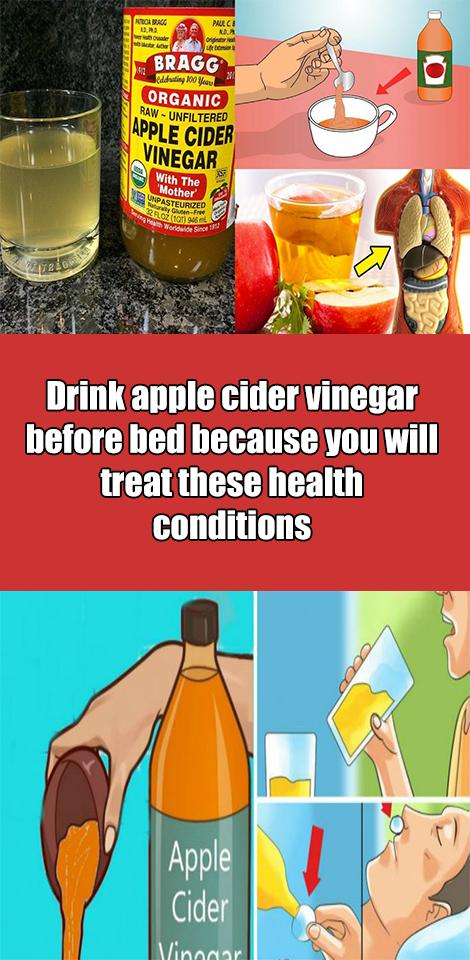 Drinking apple cider vinegar before or after meal