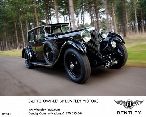 Bentley set to shine at 2014 Concours of Elegance