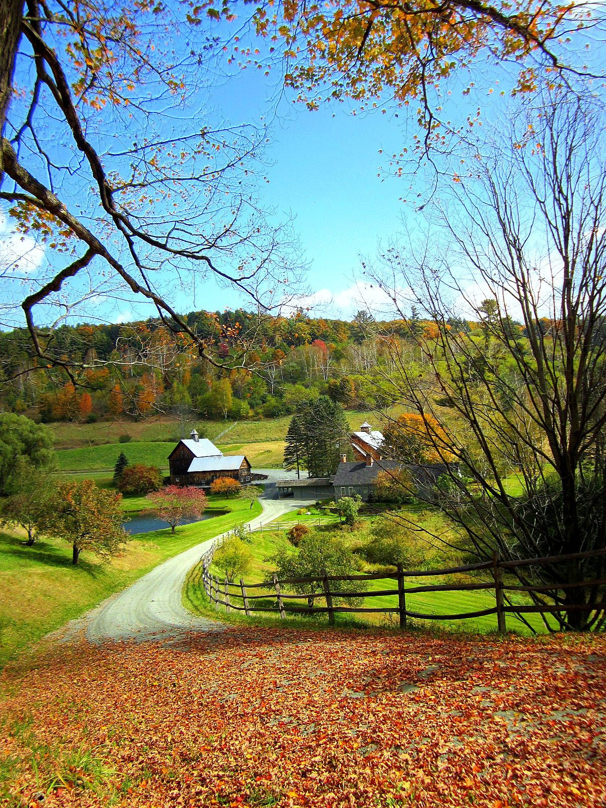 Near Woodstock Vt With Images Scenery Photography Autumn Scenery Scenic Photos