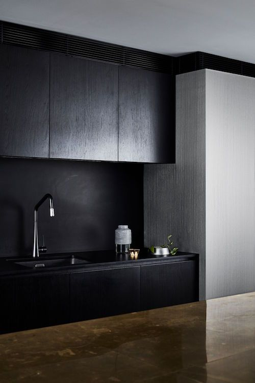 New Dulux Paint Effects Include Concrete Steel And Copper Black Painted Walls