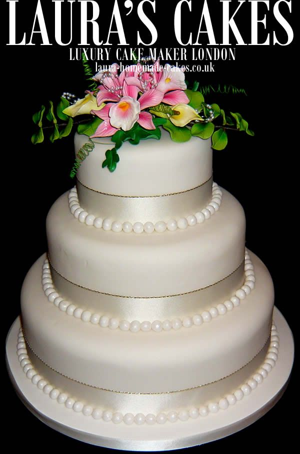 High End Wedding Cakes In London Top Cake Maker