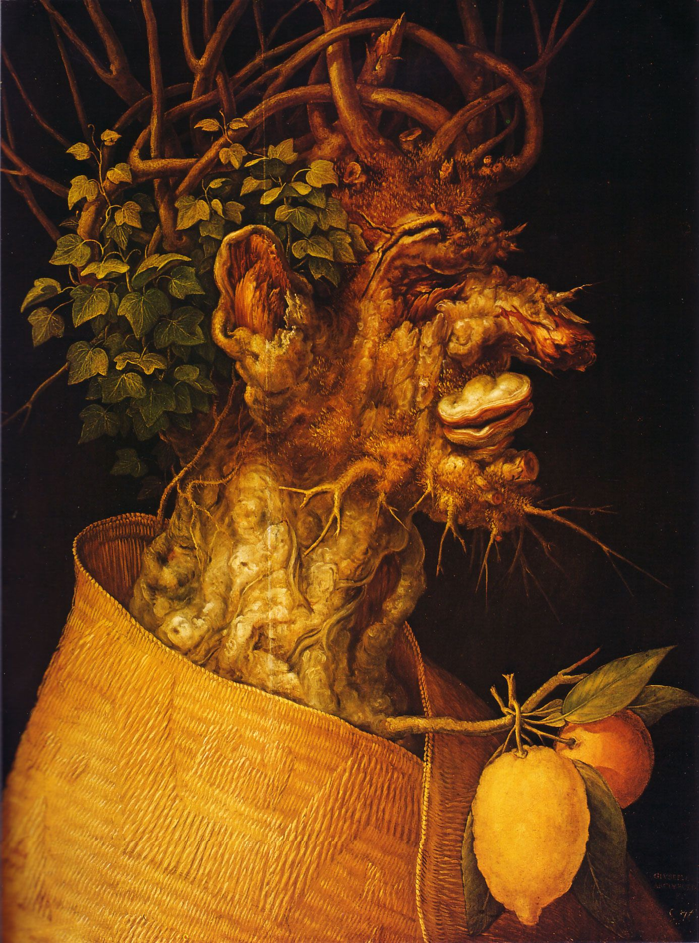 Arcimboldo Four Seasons Winter