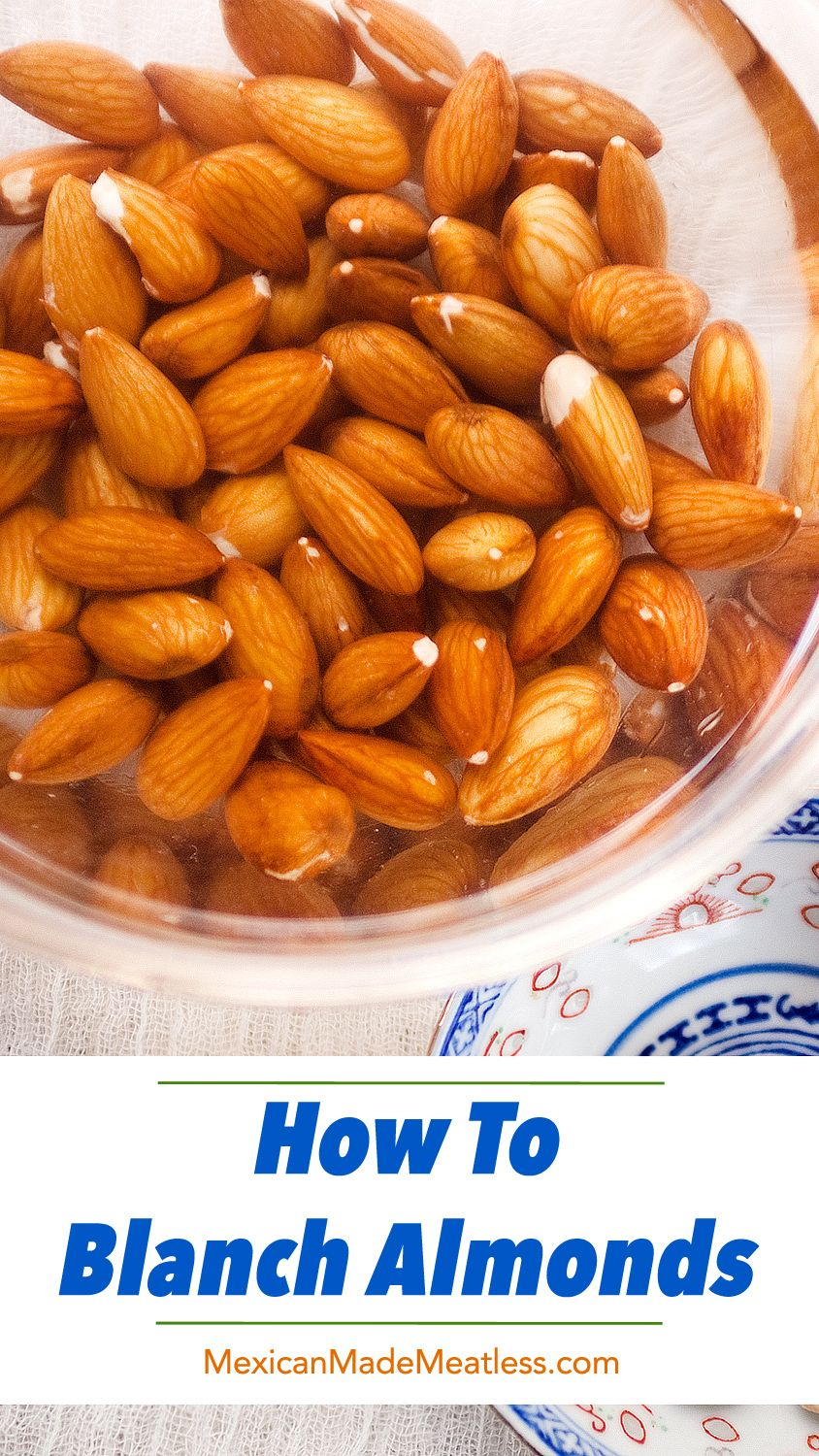 Do You Know How to Blanch Almonds? #dairyfree #almonds #howtoblanch