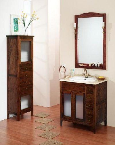 Muebles de ba o clasicos rusticos y modernos muebles de ba o rusticos de madera maciza muebles - Muebles rusticos modernos ...