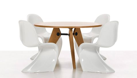 Panton Chair Verner Panton Style   Plastic Gloss   Design Chairs