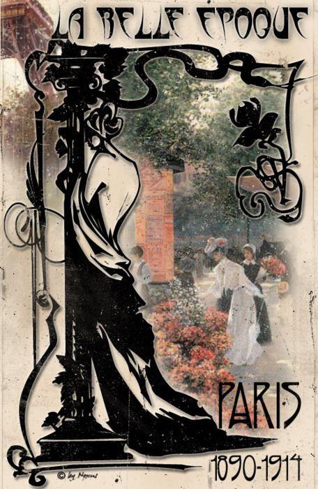 Thegildedmirror La Belle Epoque Graphische Kunst Paris Kunst