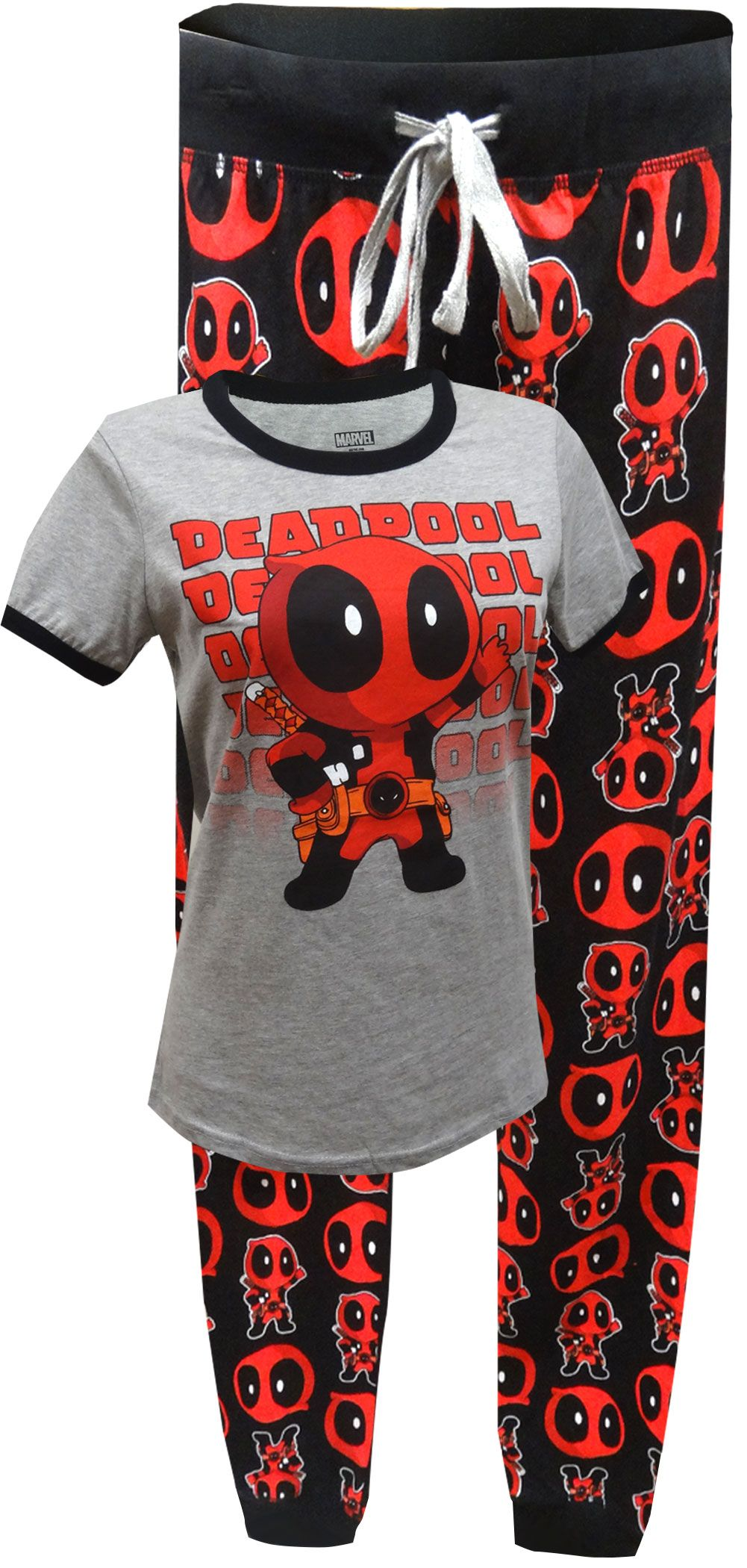 Marvel Comics Deadpool Jogger Pajama  cfbca2e02