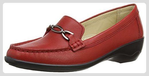 Ellen, Mocassins Femme, Rot (Red), 40 EU (6 6 UK) Padders