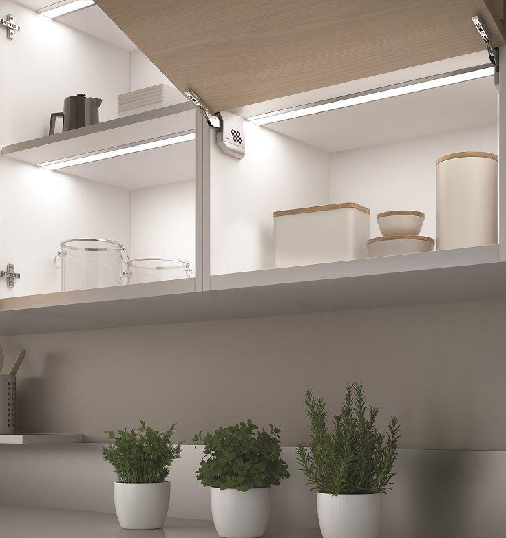 Domus Line S Ledye Led Lighting Profile Requires Only 12mm Depth For Recessed Installation Blind Or Installing Cabinets Inside Cabinets Led Recessed Lighting
