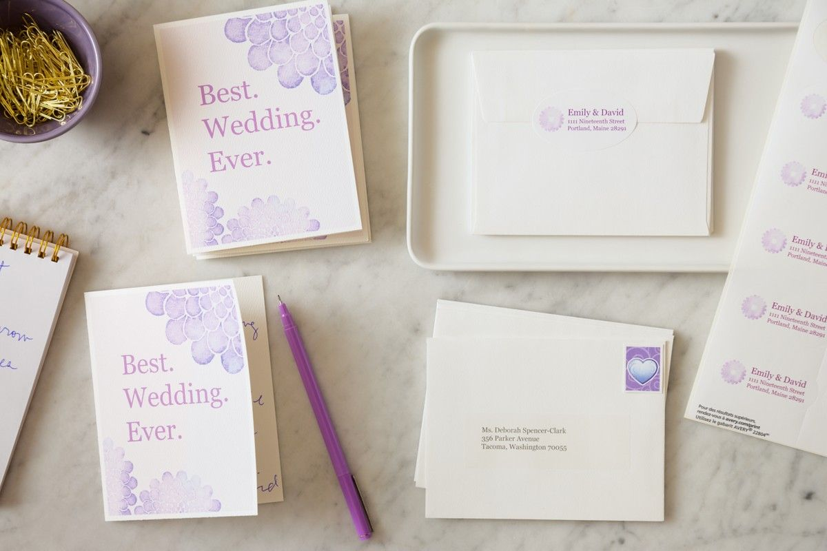 creating your own wedding stationery has never been easier just