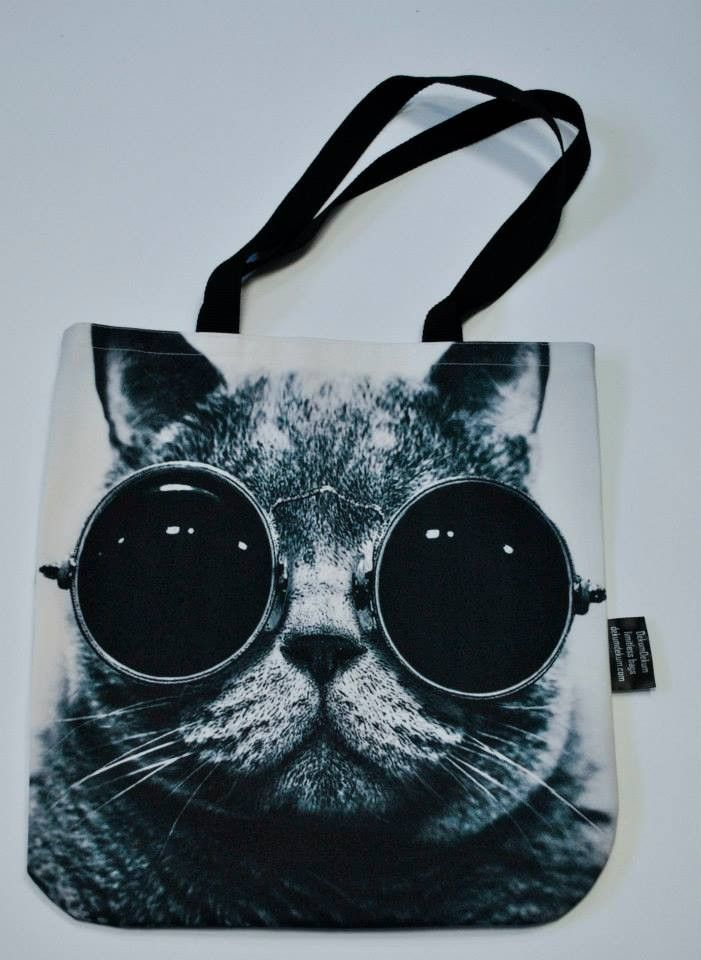 Handbags With Cats On Them Bag Face Of Cat In Sungl Limitless Bags Uk