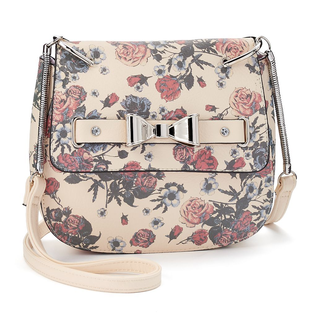 Candie's® Sabrina Crossbody Saddle Bag | Kohls