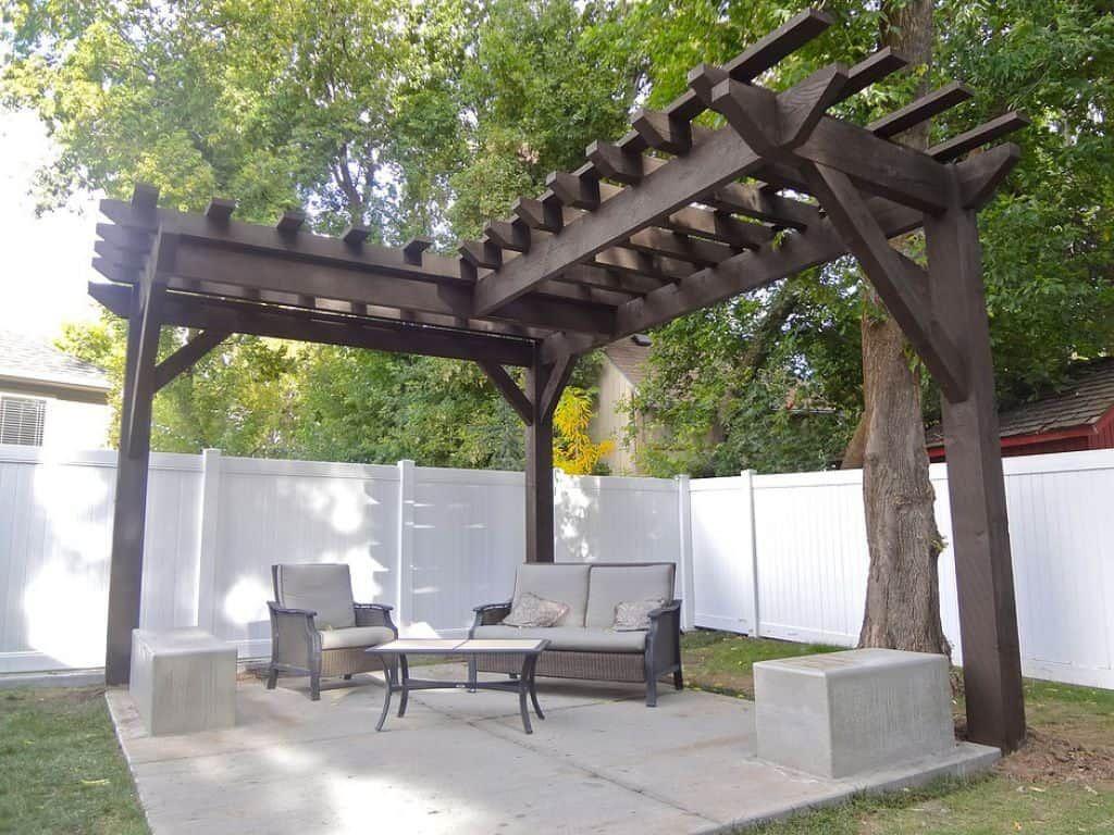 Corner Pergolas For The Yards Backyard Pergola Outdoor Pergola Pergola