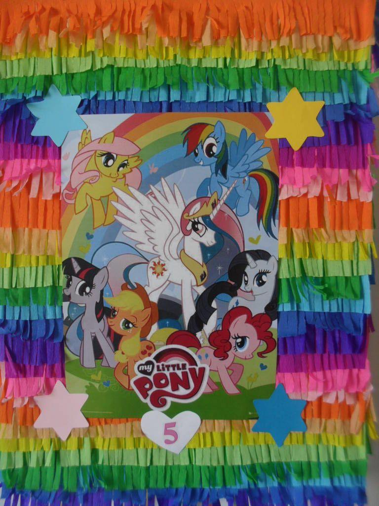My Little Pony Pinhata  Laura 5º Aniversário