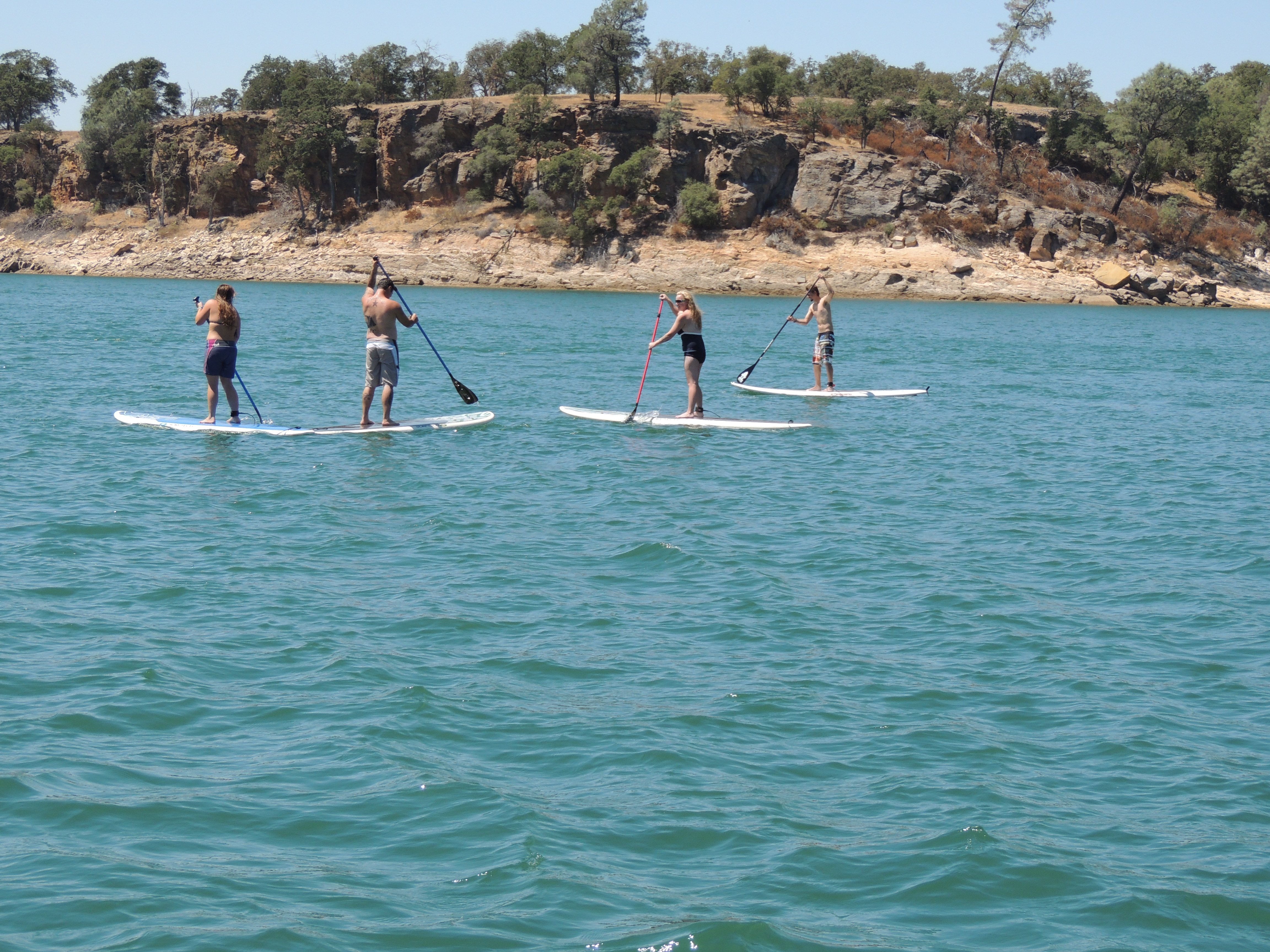 Stand Up Paddleboarding at Lake Camanche  #sup #sierrafoothills #learntopaddleboard #lakecamanche  Rent Paddleboards at Lake Camanche www.camancherecreation.com