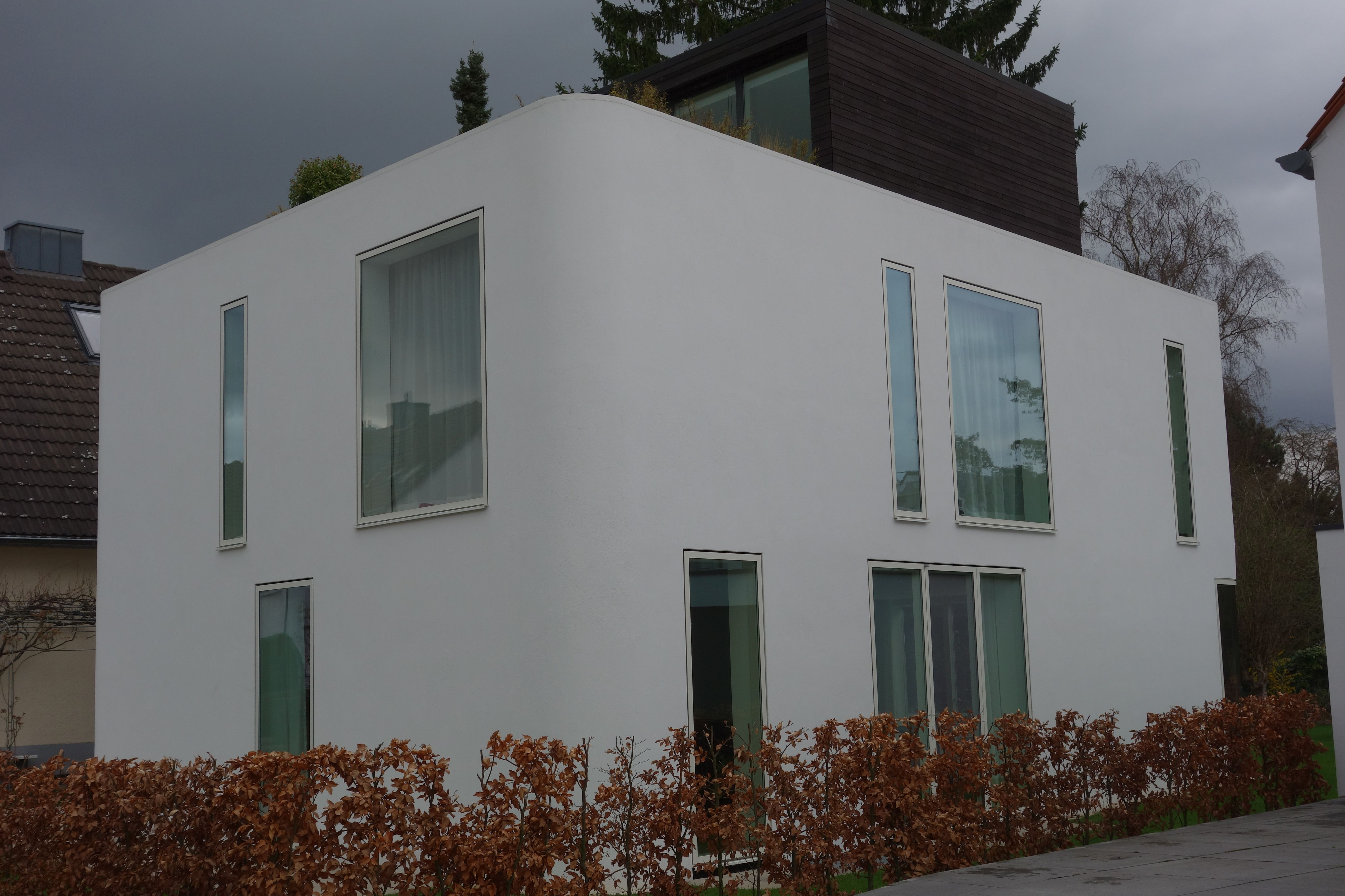 Efh In Koln Velfac Fenster Bodentiefefenster Fassadenbundig Hausbau Haus Holz Alu Wirliebenholz Treppenbau Bodentiefe Fenster Fenster