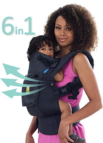 dbb5697b604 SIXPosition 360 Ergonomic Baby Child Carrier by LILLEbaby The COMPLETE  Airflow All Charcoal     Learn more by visiting the image link.