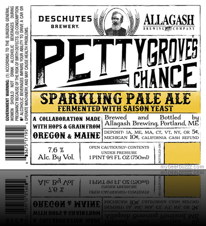mybeerbuzz.com - Bringing Good Beers & Good People Together...: Allagash & Deschutes Collaborate On Pettygrove's C...
